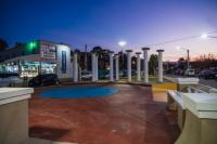 Rivadavia: remodelaron la Plazoleta Carlos Gardel