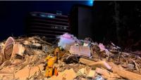 Derrumbe en Miami: un rescatista encontró el cuerpo de su hija entre los escombros