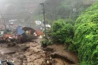 Un temporal en Japón provocó una avalancha y hay al menos dos muertos y 19 desaparecidos