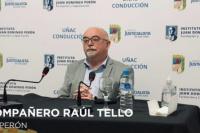 Raúl Tello puso a disposición su renuncia, tras la inclusión de un menor en un curso del PJ