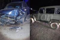 Cuatro heridos, tras un violento choque en Ruta 270