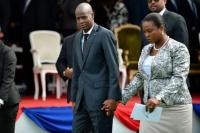 Al igual que el Presidente, murió asesinada la primera dama de Haití