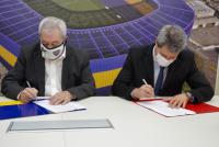 Firman un convenio, para que deportistas sanjuaninos puedan realizar prácticas en Boca