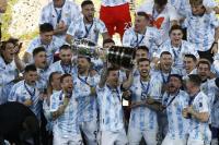 Argentina le ganó 1-0 a Brasil y es campeón de la Copa América