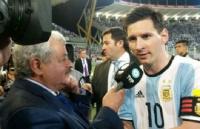 Tití Fernández le dedicó un mensaje a Messi: