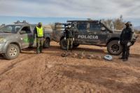Detienen a 18 personas que cazaban liebres en Bermejo