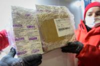 Más vacunas: llegaron a San Juan 22.300 vacunas de AstraZeneca