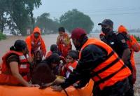 Las lluvias monzónicas causaron al menos 115 muertos y miles de evacuados en India