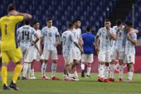 El fútbol argentino quedó eliminado de los Juegos Olímpicos de Tokio