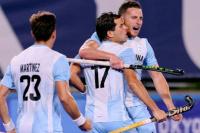 Los Leones golearon a Nueva Zelanda y están en cuartos: jugó el sanjuanino Bugallo