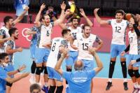 Con 3 sanjuaninos, Argentina derrotó a Italia y está en la semifinal de los Juegos Olímpicos