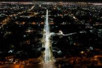 Capital: Fue inaugurada la iluminación led sobre calle Mendoza