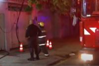 Intentó apagar el fuego de su casa y terminó en el hospital con graves quemaduras