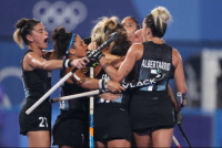Las Leonas derrotaron a India y jugarán por la medalla dorada