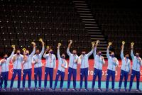 ¡Ya se colgaron el bronce! los sanjuaninos Pereyra, Sánchez y Lima recibieron sus medallas