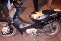Le robaron la moto y la encontraron a las pocas horas: un joven quedó detenido