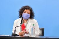 Carla Vizzotti reveló que una provincia ya alcanzó la inmunidad de rebaño