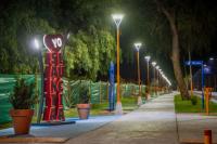 Santa Lucía inauguró un nuevo tramo del Circuito de Salud Balcarce