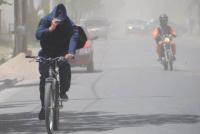 El viento Sur se hace sentir en San Juan y la máxima no superará los 19ºC