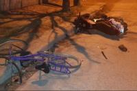 Un ciclista y un motociclista hospitalizado tras chocar en Concepción