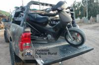 En Albardón, recuperaron una moto que fue robada en San Martín