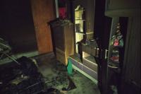 Un niño jugaba con un encendedor, quemó un colchón y provocó un incendio