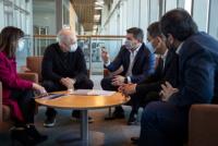 Laciar, Cornejo y Orrego se reunieron con Rodríguez Larreta en Buenos Aires