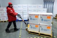Arribó al país una nueva partida de 570.000 vacunas Sinopharm