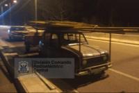 Robaron los portones de la ex Cerámica San Juan, pero los atraparon gracias a una cámara de seguridad