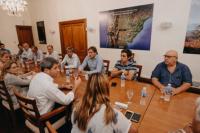 """Carlos Maza, tras la reunión con el Gobernador: """"Nos pidió que trabajemos todos juntos"""""""