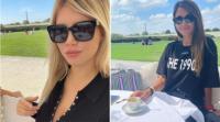Wanda Nara imitó a Antonela Roccuzzo en París y así reaccionó la mujer de Messi