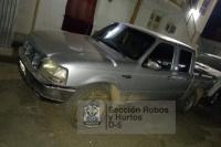 Recuperan en Jáchal, una camioneta que fue robada en Mendoza