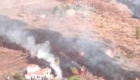 Suspenden los vuelos en el aeropuerto de la isla de La Palma por las cenizas y suben a 6.200 los evacuados
