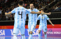 Mundial de futsal: Argentina venció a Rusia y disputará la semifinal ante Brasil