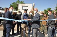 Rubén García inauguró el Centro de Salud Animal y Control de Vectores