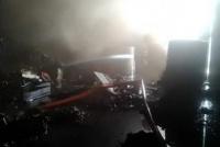 Pérdidas totales en una casa de Pocito que se prendió fuego