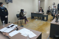 Homicidio en Pocito: La mujer declaró que no tuvo intención de matar a su expareja