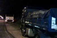 Detienen a un camionero que robaba en una finca de Chimbas