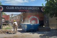 Murió el obrero que había caído en la obra del Club Urquiza