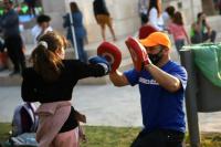 Capital triplicó la cantidad de niños que hacen deporte gratuitamente