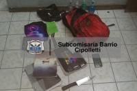 Tiene 22 años y le robó la mochila con útiles a un nene de 13 años: quedó detenido
