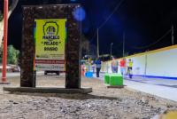 Apertura del nuevo Paseo Riveros en el renovado Club Deportivo Angaco