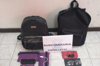 Tras un allanamiento, detienen un joven que le robó las mochilas a dos estudiantes