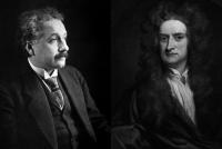 Einstein vs Newton: ¿quién fue el científico más grande?